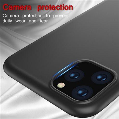 iPhone 11 pro Max Schutzhülle Schwarz Silikon